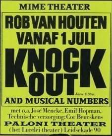 Poster Knock Out